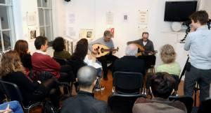 Francesco and Fadi of Taqasim Music School
